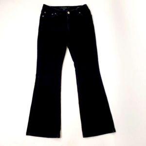 Women's Calvin Klein Black Button Up Jeans Sz 29